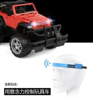 ЭЭГ игрушка автомобиль мозговая волна идея управления внедорожный автомобиль Фокус Обучение управление мозгом игрушка с компьютерным упр