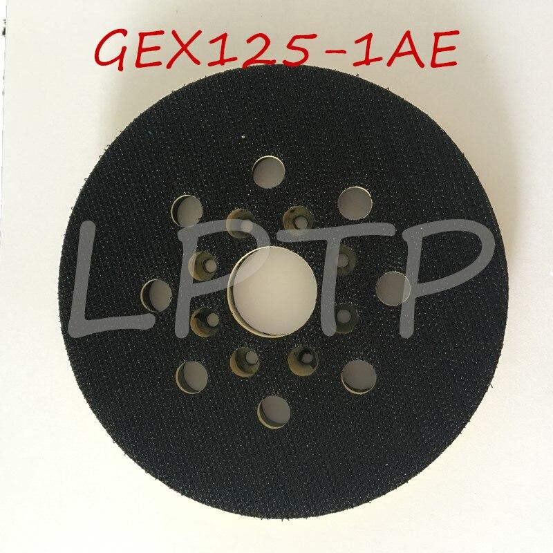 """Substituição para Bosch Máquina de Lixar Gex125-1ae de Apoio Lixadeira Milímetros Gex 125-1ae Oem Qualidade """"5 Pad 125"""