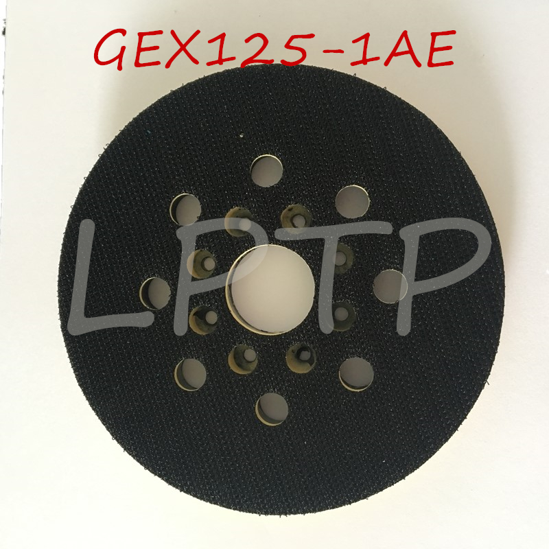 "5"" Sander Backing Pad Replacement For Bosch GEX125-1AE Sanding Machine 125mm Pad GEX 125-1AE OEM Quality"