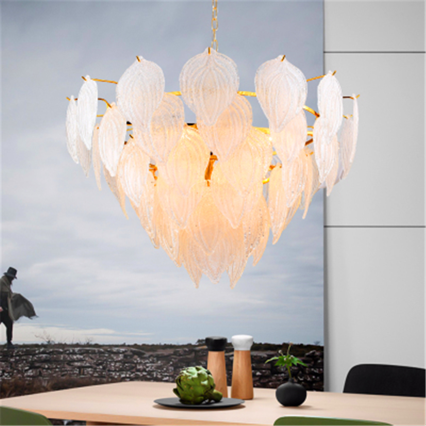 Nordic Loft Glass Pendant Lamp Lighting Kitchen Fixtures Pendant Light Bedroom Living Room Interior Decor Hanging Lamp Luminaire