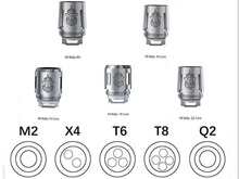 1Pcs Original vapesoon Replacement Coil Head E-Cigarette Atomizer Cores For V8 BABY/Big BABY TANK TFV8 BABY Q2 X4 T8 T6 M2 3pcs lot atomizer coil ijoy captain head ca2 ca3 ca8 cores for captain suh ohm tank captain s subohm atomizer vaporizer