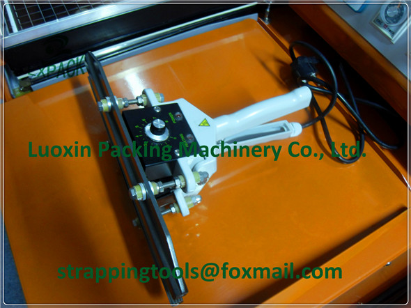 LX-PACK Plastic film aluminum foil bag kraft paper bag heating impulse sealing machine hand impulse sealer 24''-40 600-1000mm pfs 200 impulse quick rapid plastic pvc bag sealing machine sealer for food medical packaging packing manufacturing industry