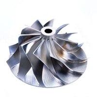 Kinugawa turbo boleto compressor roda 41.52/56.02mm 11 + 0 para garrett gt15 gtgt25 gt2256 gt2556/para bmw 530d 730d 454191 1|Peças e carregadores de turbo| |  -