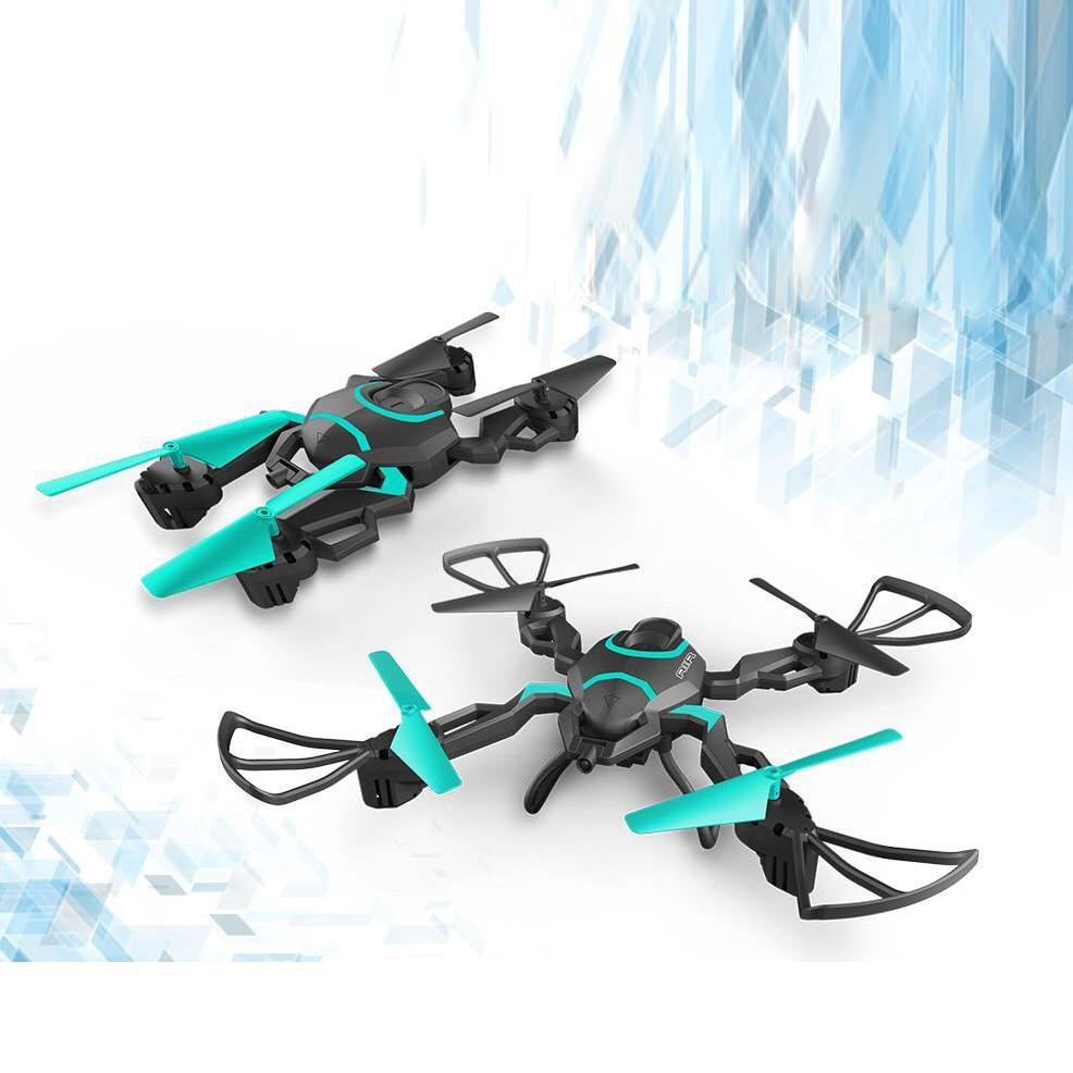 HOT 2.4G 4CH Altitud Hold HD Cámara WIFI FPV RC selfie plegable mini drone headl