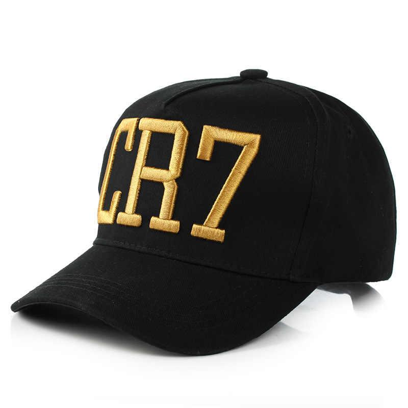 b68cb6772098f4 New Style Cristiano Ronaldo adjustable cotton CR7 Baseball Cap women Caps  Snapback Hats men CR7 Hat