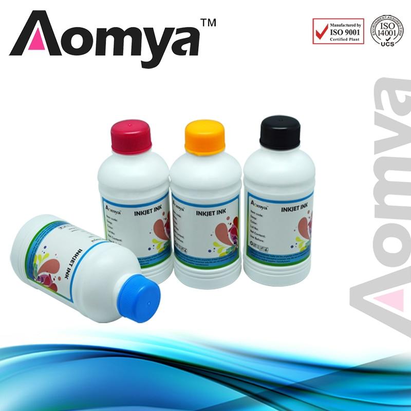 Aomya 4x250ml Digital Textile Ink for Epson R280 R290 R330 L800 L801 L805 L1800 1390 1400
