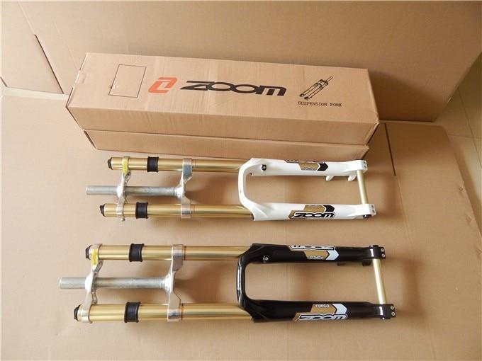 ZOOM New mountain bike suspension fork bike mtb fork 26 downhill bike forks creative strawberry style fruit picks forks 10 fork set