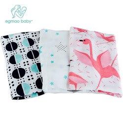 Cobertor do bebê 100% algodão musselina swaddle cobertor envoltório do bebê recebendo cobertor swaddling toalha presente respirável para newborn120x120cm