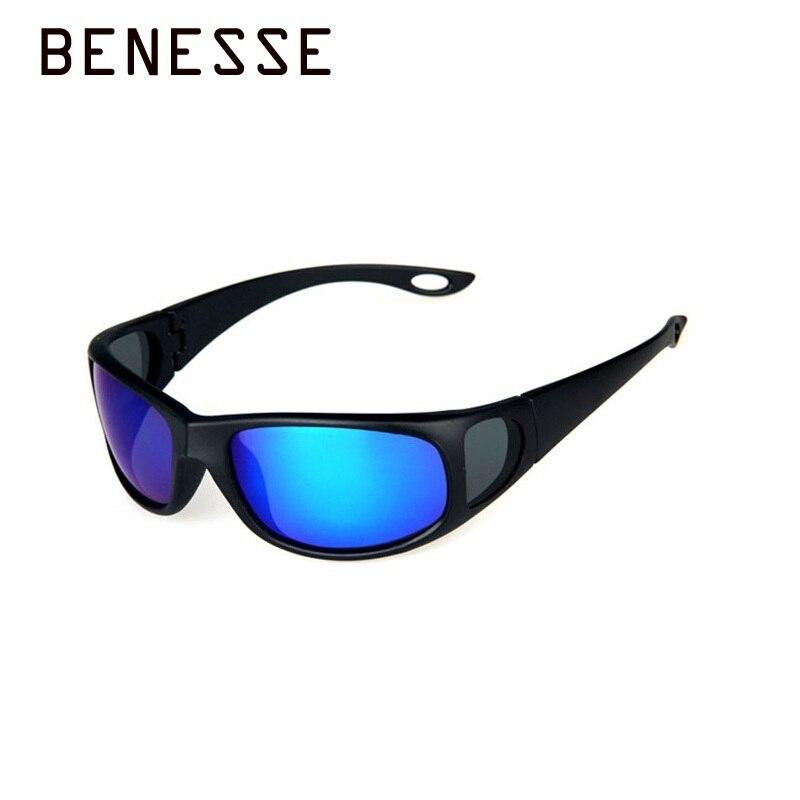 Новый спортивный вождения поляризованных солнцезащитных очков личности моды Рыбалка человек Зонт зеркало УФ-защита солнцезащитные очки ...