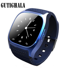 M26 Dispositivos Wearable Relógio Inteligente Homens Smartwatch reloj inteligente SMS Alarme relógio Bluetooth Smartwatch Para Mulheres reloj Android