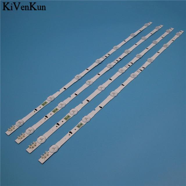 7 مصابيح LED الخلفية قطاع لسامسونج UE32J5600AK UE32J5605AK UE32J6200AW UE32J6250SU UE32J6300AU القضبان عدة التلفزيون LED الفرقة