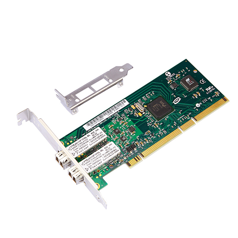 PCI server lan card for Intel 82546GB/GB PWLA8492MF double-Port Multi-mode fiber 1000 Mbps network card