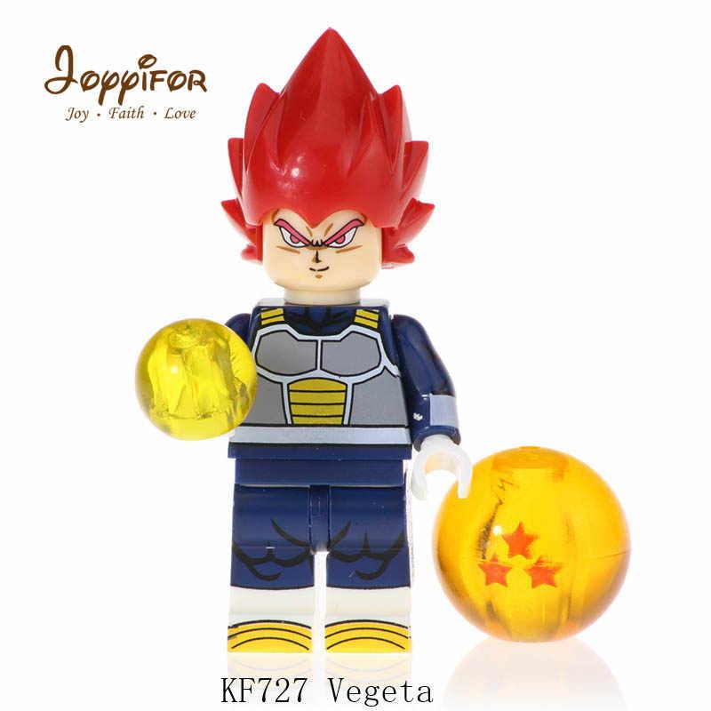 Drogan kf6069 kuririn goku rose uub Figura de Ação Modelo de Blocos de Construção tijolos Brinquedos Para Crianças