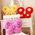 Freeshipping  butterfly plush toy butterfly pillow cushion cute pillow cushion gift