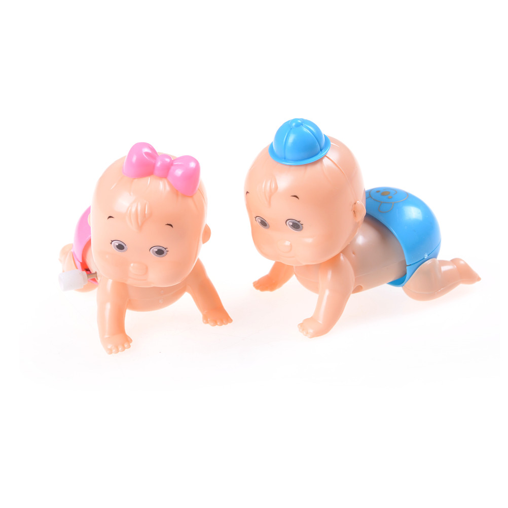 Clockwork Toy Wind-Up-Toys Crawling Party-Gift Kids For Baby-Boy-Girl New 1pcs Doll
