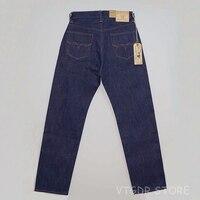 BOB DONG 16 унц.. Regular Fit Selvage джинсы Винтаж одежда жесткие мужские брюки