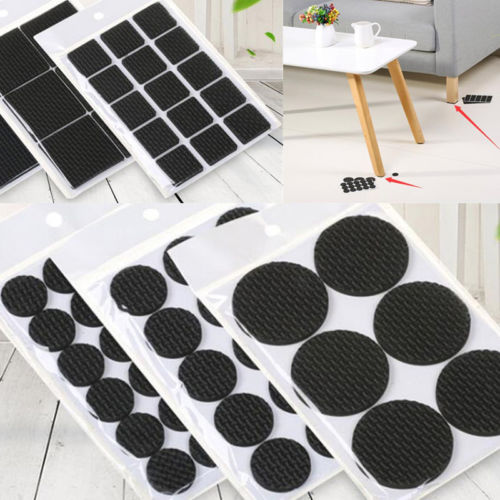 1Lot Soft Anti Slip Mat Furniture Leg Non-Slip Rug Felt Pads Sofa Table Chair Mat Stickers