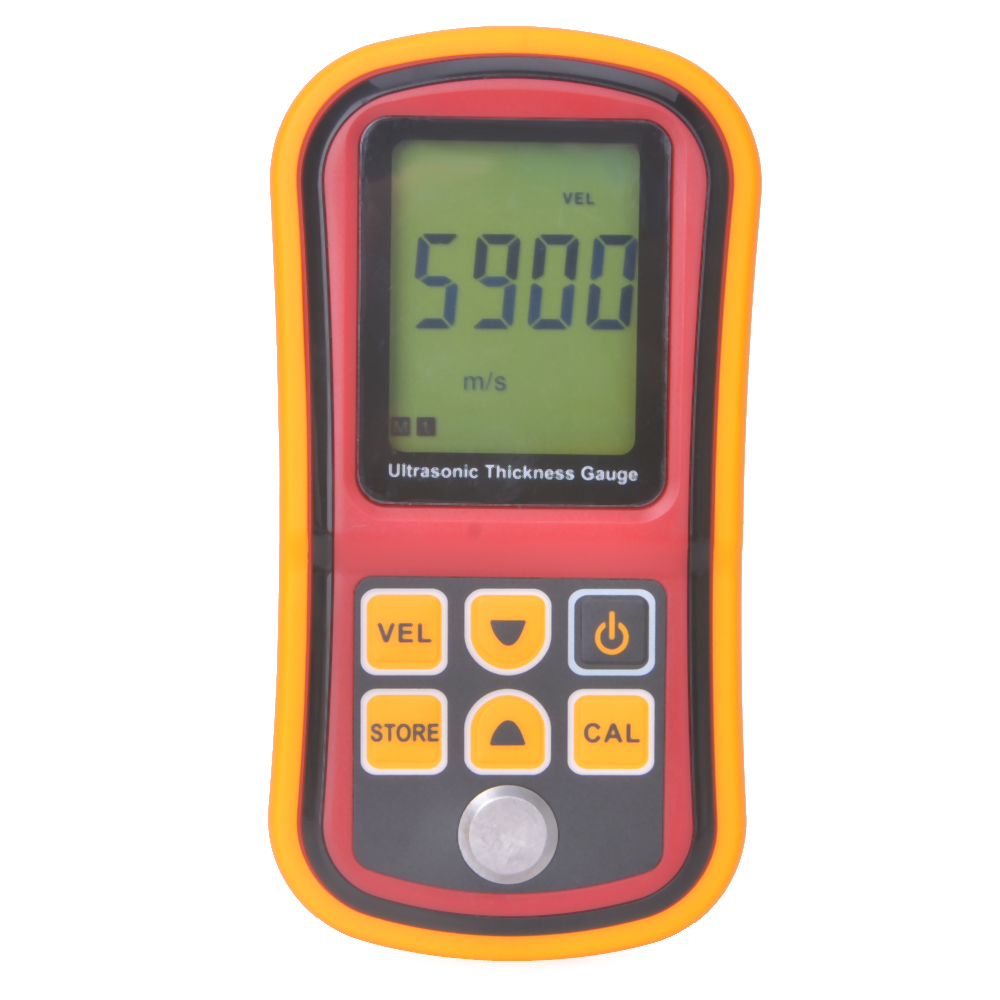 цены New 1.2-220mm GM100 Digital Ultrasonic Thickness Meter Tester Gauge Metal Tester