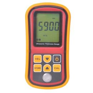 Novo 1.2-220mm GM100 Digital Ultrasonic Medidor Da Espessura de Tester Medidor de Testador De Metal