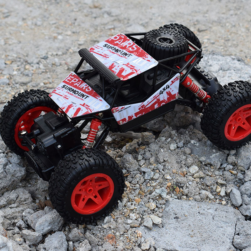 Electric RC Car 4WD Rock Crawlers 2.4GHz climbing Car 4x4 Double Motors Bigfoot Car Remote Control Model Off-Road Vehicle ToyElectric RC Car 4WD Rock Crawlers 2.4GHz climbing Car 4x4 Double Motors Bigfoot Car Remote Control Model Off-Road Vehicle Toy
