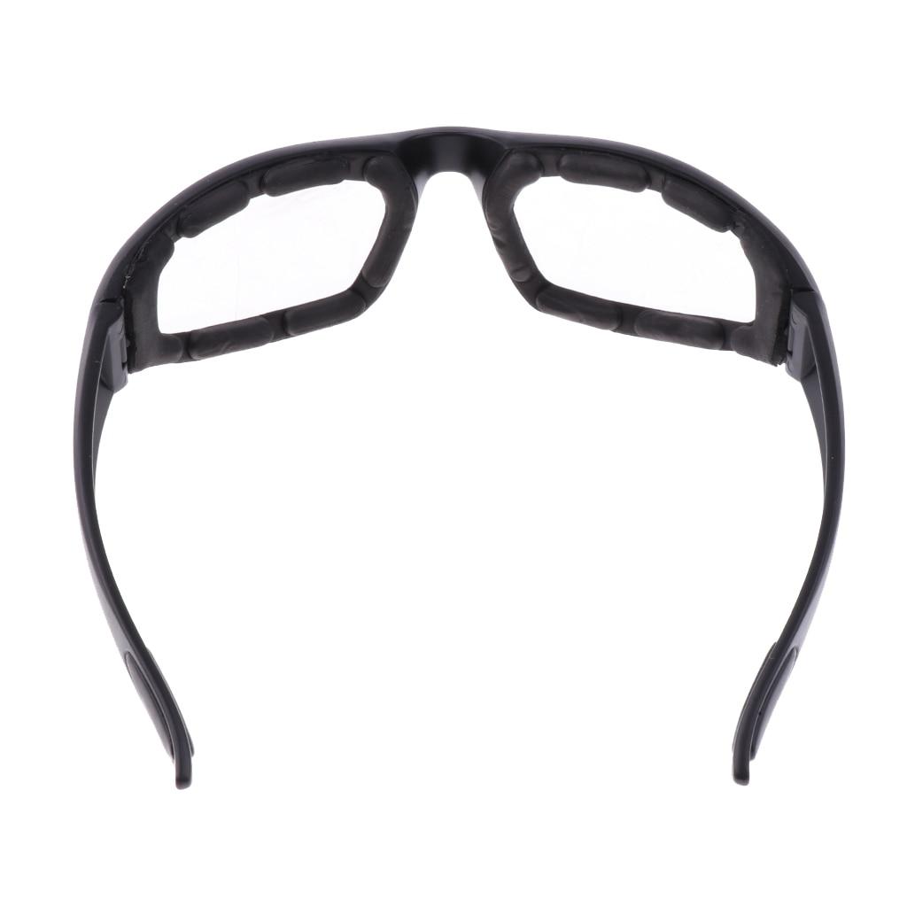 Image 5 - Мотоциклетная защита от пыли и ветра очки для верховой езды мягкие удобные прозрачные солнцезащитные очки из ПВХ зеркальные UV400 линзы защитные очки-in Мотоциклетные очки from Автомобили и мотоциклы