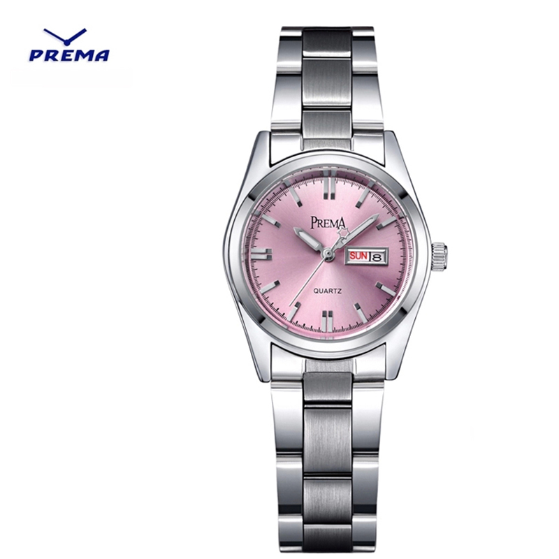 2017 PREMA top brand fashion women watches stainless steel waterproof Ladies Quartz Watch female dress Wristwatches gift clock 2017 smart home crystal glass panel wall switch wireless remote light switch us 1 gang wall light touch switch with controller