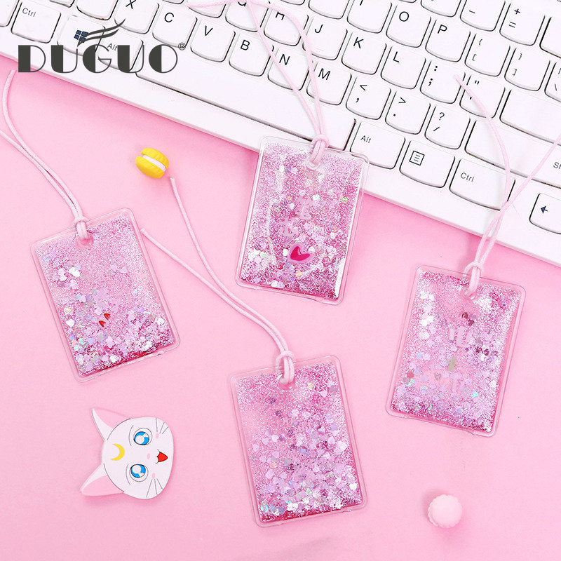 Duguo Cute Stationery Pattern Bookmarks Flow Gold Bookmark Student Creative Text Bookmark Teacher Christmas Gift Book Bookmark