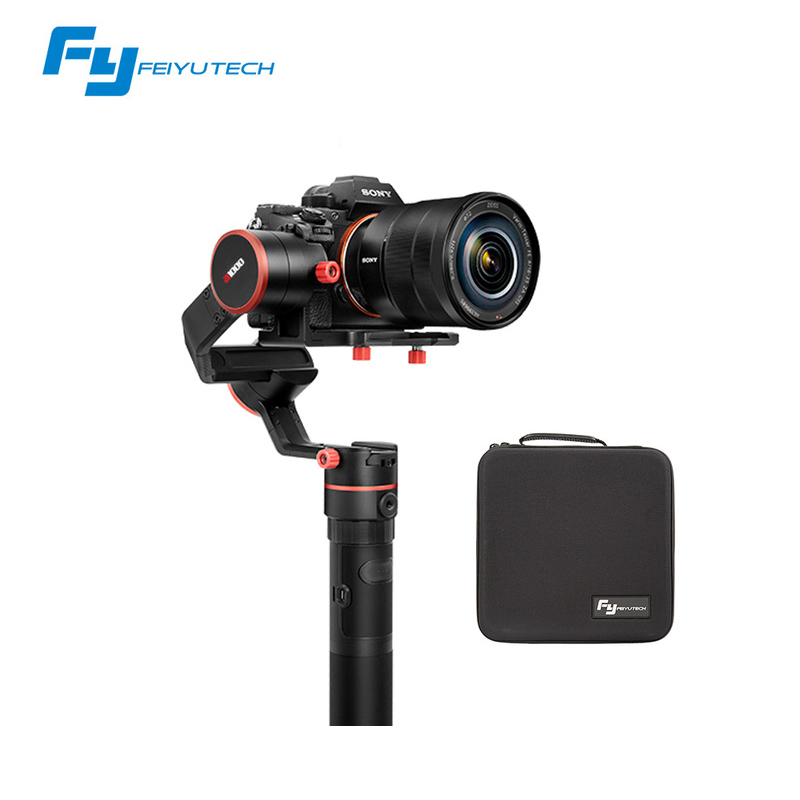FeiyuTech a1000 3 Axis Gimbal Handheld Stabilizer for NIKON SONY CANON Mirrorless Camera Gopro Action Cam Smartphone 1.7kg Load x cam sight2 2 axis smartphone handheld stabilizer mobile phone brushless gimbal with bluetooth for iphone samsung xiaomi nexus