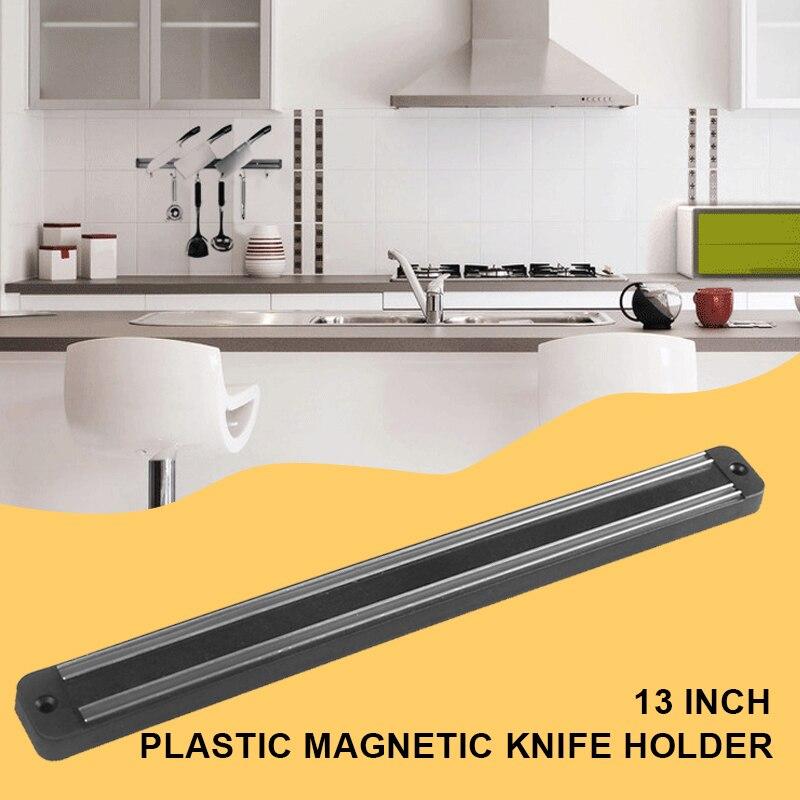 Leuk Geadsorbeerd Magnetische Mes Houder Plastic Keuken Praktische Magnetische Mes Rekken Meubels Duurzaam Magnetische Mes Strip Tool