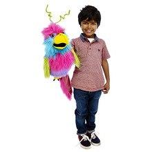 Кукольная компания большие птицы райская птица ручная кукольная петушица и ворона и фиолетовая обезьяна плюшевая игрушка ручная кукольная кукла