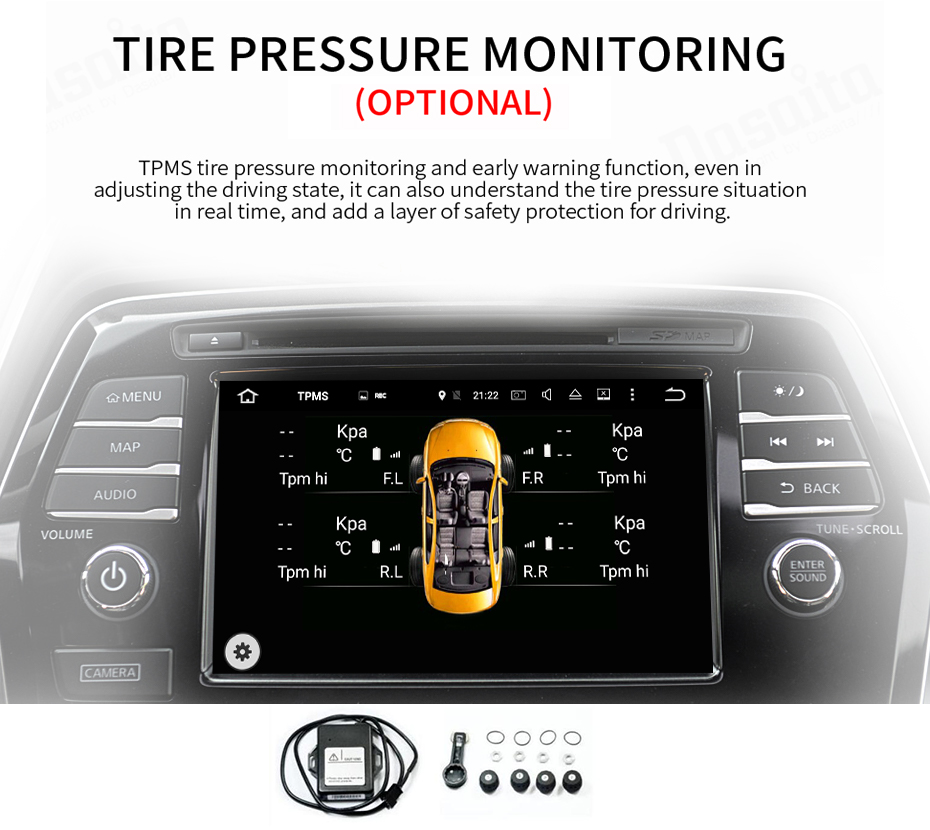 Android Car DVD Player TPMS