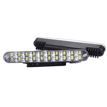 kongyide Car Light 2Pcs 2x 30 LED DRL Turn Lights Daytime Running Light Bulbs font b