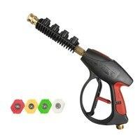 High Pressure Water Gun Sprayer Brass Hose Nozzle Watering Equipment Garden Car Washing Accessories