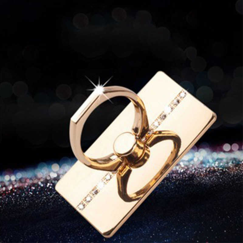 360 Degree Finger Ring Mobile Phone Smartphone Stand Holder Mount for IPhone IPad Xiaomi All Smart Phone Luxury Couple Models