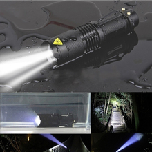 Powerful 3 Mode SK68 CREE Q5 LED Flashlight Zoom Tactical Outdoor Camp Lamp lanterna Waterproof Torch lights цены