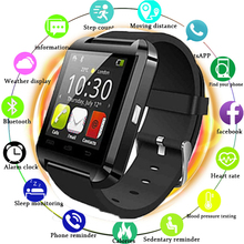 Bluetooth Watch U8 Smart Watch WristWatch Smartwatch Digital Sport Watches for Apple IOS Android Phone Wearable Electronic цена