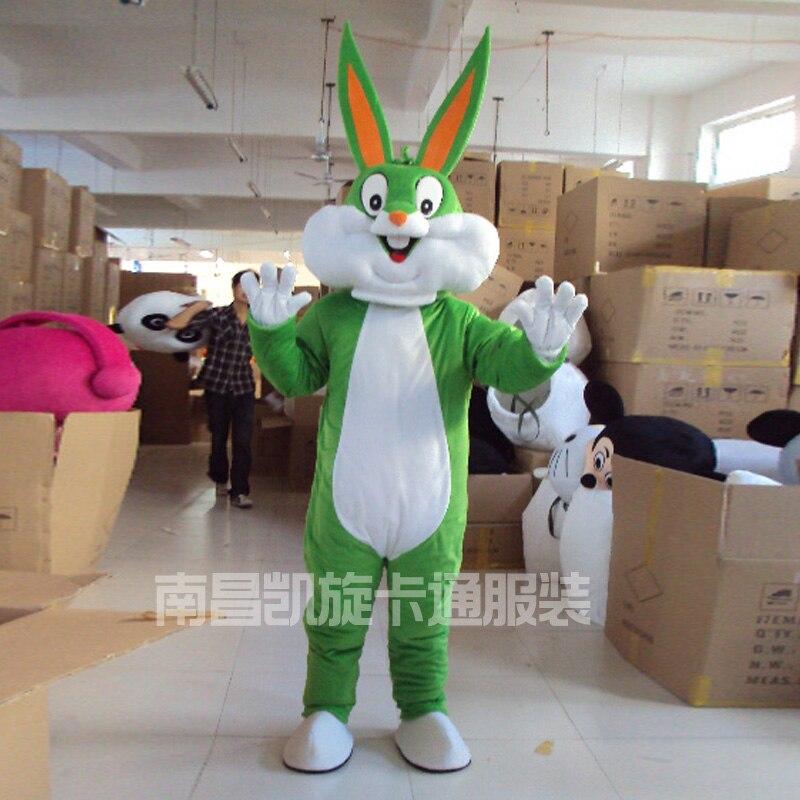 Costumes de mascotte de lapin de pâques et mascotte adulte de lapin de Bugs à vendre