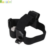 Cinta de cabeça Ajustável Headstrap Montar Cinto Anti-slide Glue Para Montar ir pro Herói 2 3 3 + 4 Sj4000 Câmera Esporte acessórios