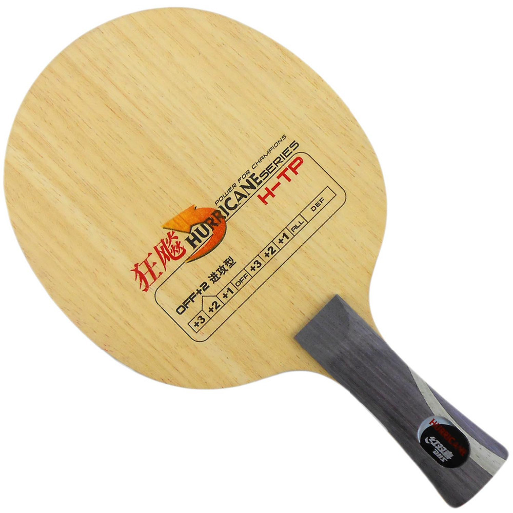 DHS Hurricane H-TP Table Tennis / PingPong Blade (Shakehand-FL) [playa pingpong] dhs k161 chinese naitional version vis structure balde