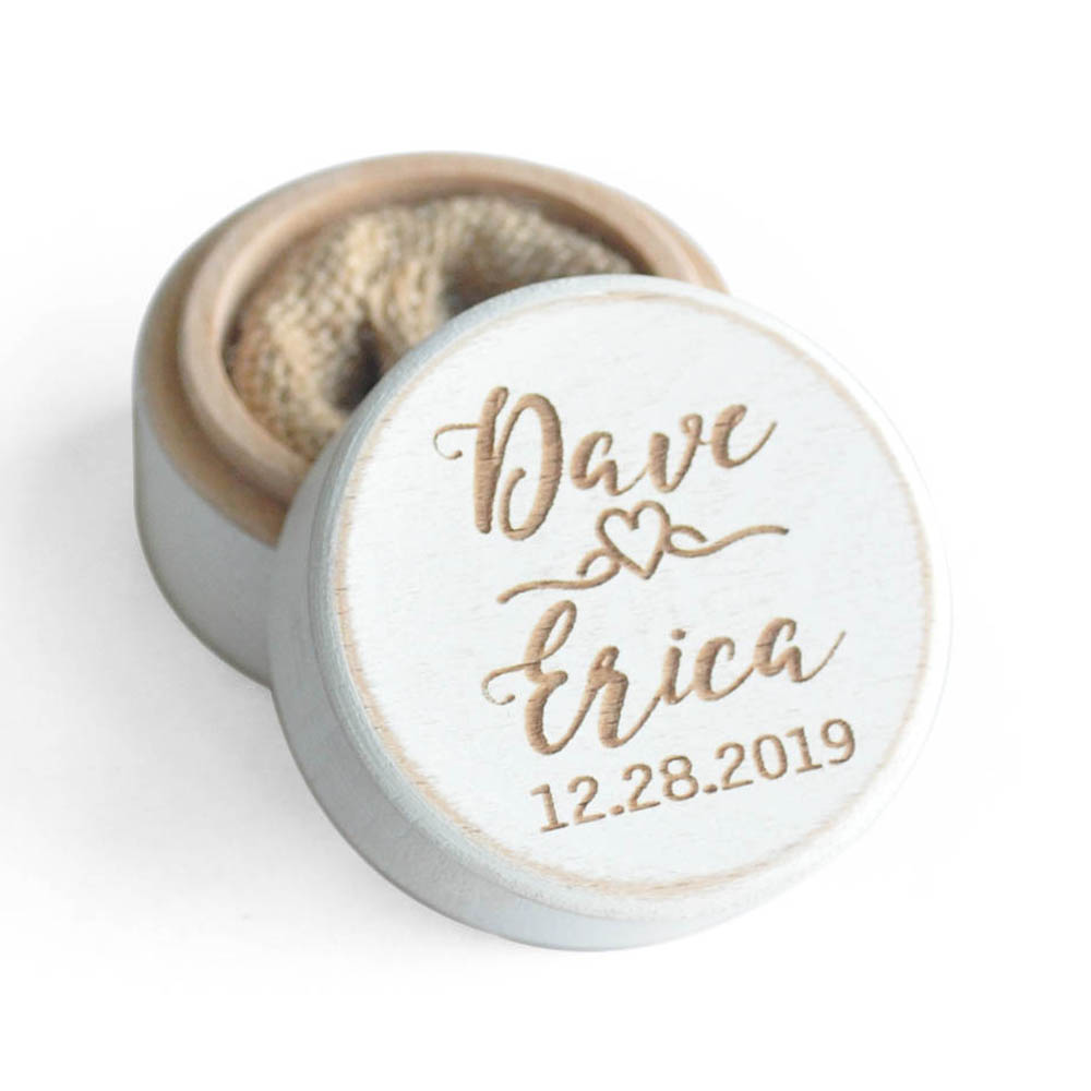 Customized Wedding Ring Box,Rustic Wooden Ring Bearer Box,Personalized Ring Holder,Engagement Box,Proposal Ring Box