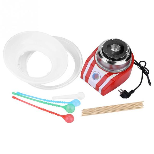 Striped Electric Cotton Candy Maker
