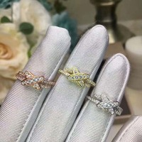 France paris brand jewelry Letter X Shape Ring Zirconia Micro Paved Women Anel,Cross ring Wedding Bridal 925 silver Jewelry