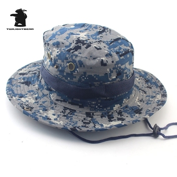 MULTICAM HAT ARMY BOONIE HAT 26 Colors Military Camouflage Bucket Hats Hunting Hiking Fishing Climbing Cap AF23 1