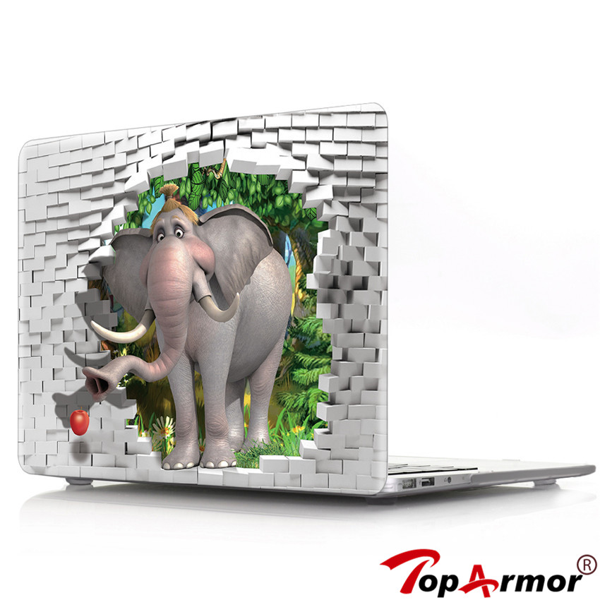 info for 4d9b6 dbd28 US $17.09 15% OFF|For Apple Macbook Air 13 Plastic Hard 3D Dinosaur  Elephant Case Cover for Macbook Pro 13 Retina 13.3 Laptop Shell+Keyboard  Cover-in ...