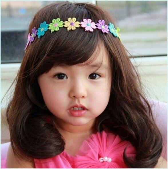04753 new arrival baby super lovely flower hair band