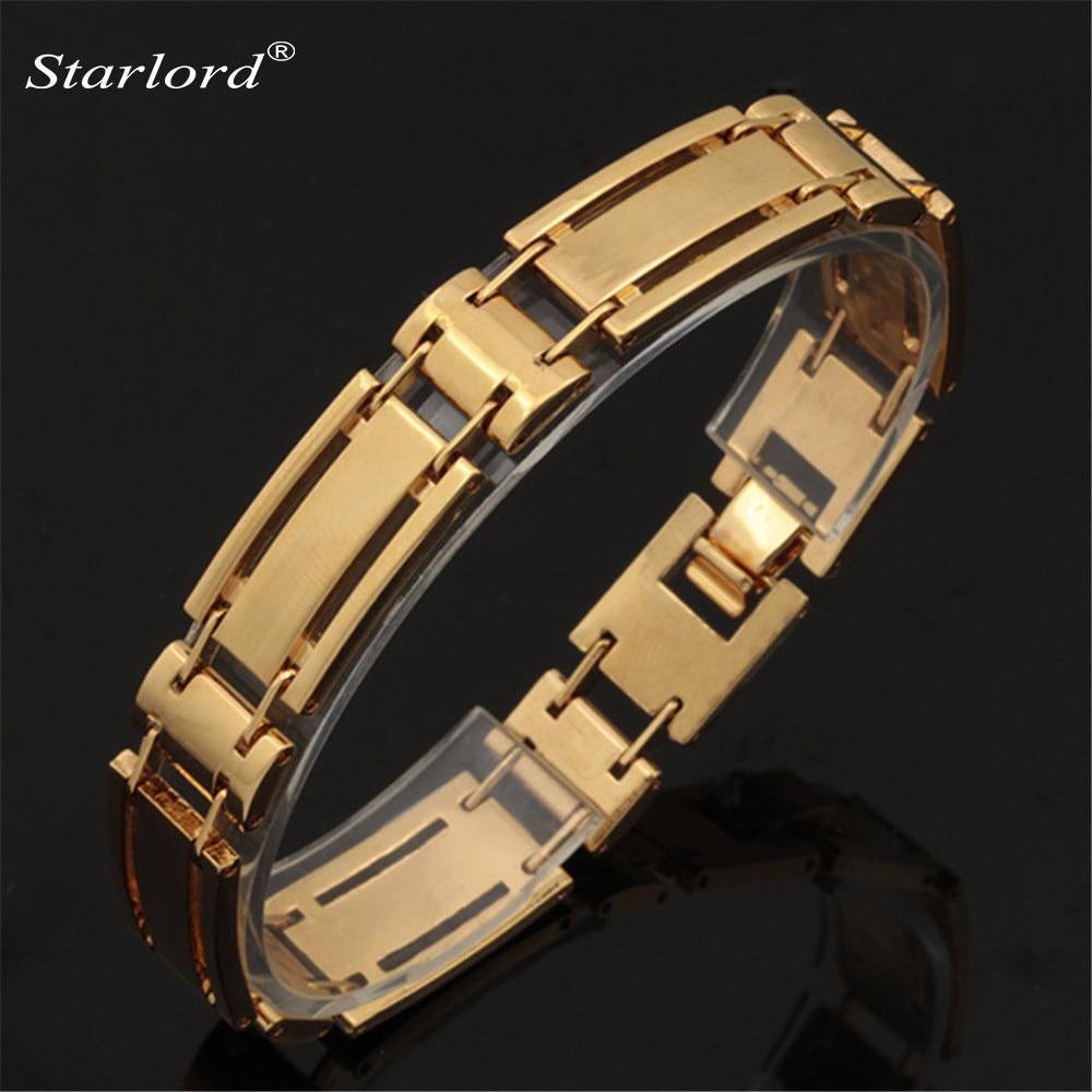Bracelet Men Jewelry Vintage Fashion Jewelry Trendy One Direction Gold Color Men/Women Bracelet H5236