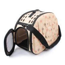 THINKTHENDO Dog Carrier Bag Portable Cats Handbag Foldable Travel Puppy Carrying Mesh Shoulder Pet Bags