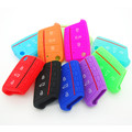High Quality Silicone Key Case Cover For Volkswagen VW Golf 7 mk7 Skoda Octavia A7 Key Portect Case Bag Car Accessories