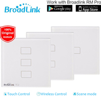 Broadlink TC2 Switch 1 2 3 Gang EU UK Standard Smart Home Automation Touch Panel RM