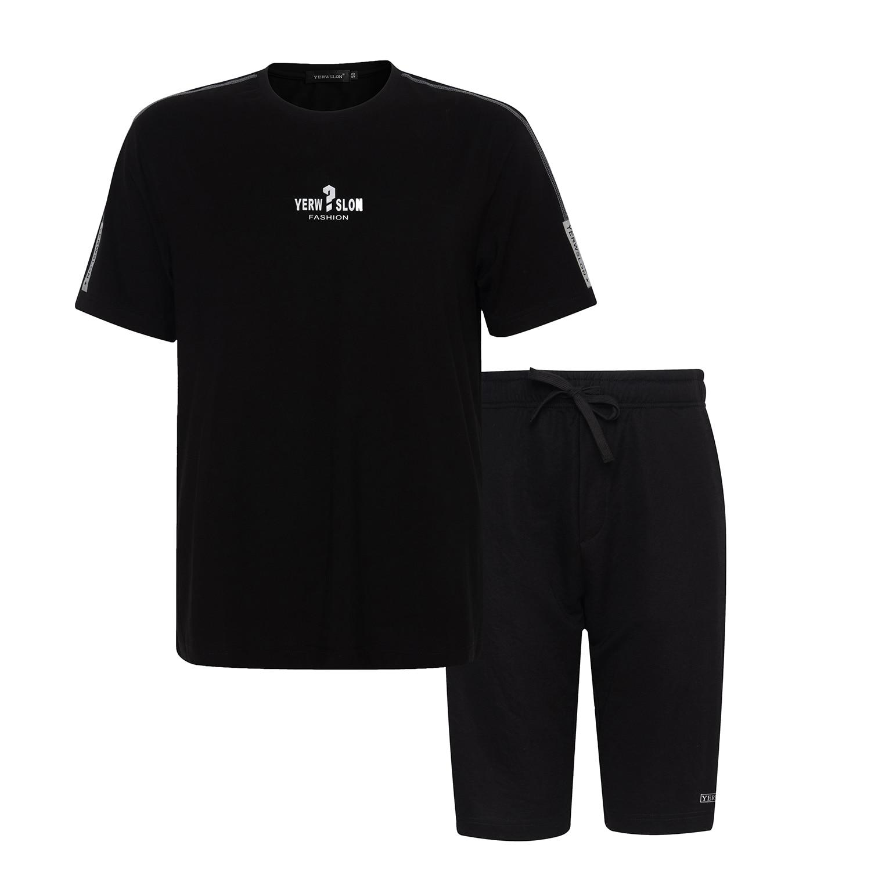 Homme course série T-Shirt respirant et séchage rapide Modal sweat Gym extérieur course chemise noir grande taille Sports